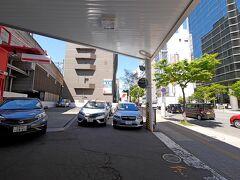 0936 ニッポンレンタカー札幌駅北口営業所を出発