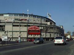 MLBのシカゴ・カブスの本拠地