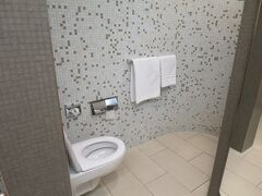 ラウンジではシャワーを借りてみました。スッキリ!