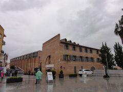 その前にある建物は、Museo Nacional de Arte Romano 国立ローマ博物館ですが、時間がなかったのと、共通チケットに含まれていなかったのとでパスしました。