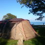 秋のキャンプ第三弾!湖西六ッ矢崎浜オートキャンプ場