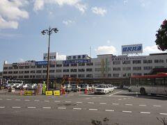 新潟駅です。  …なんか、昔の福井駅と同じ雰囲気を醸し出してます。 新潟駅のほうが遥かに賑やかですけどね。
