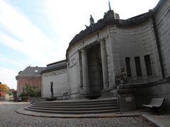 トゥルネー美術館。オルタが設計した建物。