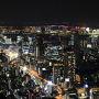 曇が途切れるそのひと時に…ちょこっと皆既月食☆六本木ヒルズ・東京シティビューからの眺めとともに