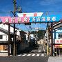 温泉旅館が建ち並ぶ湯村温泉もここが最寄り駅のようです。また駅周辺にも浜坂温泉郷と呼ばれる温泉が湧いているようです。