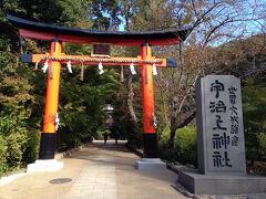 次にもう少し山道を上って、世界遺産の宇治上神社を目指します。