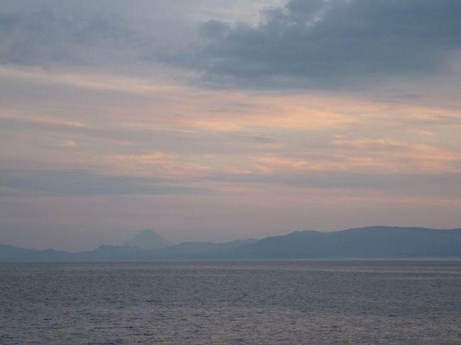 17:00頃。<br />綺麗な夕焼けがみられました。<br />