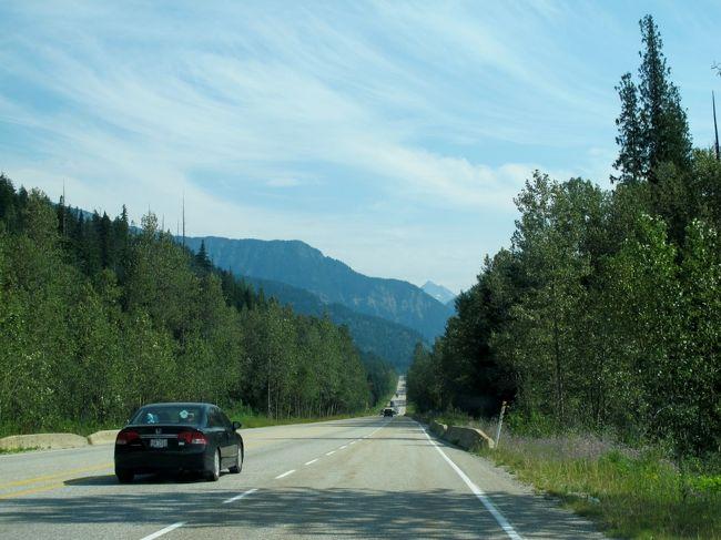 カナダ西部~モンタナ州 ロッキー山脈&史跡(3/全10): レベルストーク&グレーシャー国立公園 → ラジウム温泉