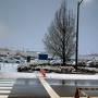 航空機、大雪のため欠航!
