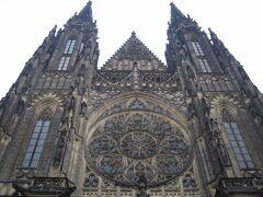 プラハ城内に建つ「聖ヴィート大聖堂」