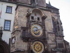 旧市庁舎の「天文時計」