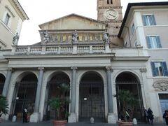 サンタマリア・イン・トラステベレ聖堂