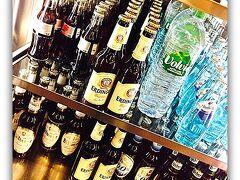 【フランクフルト国際空港にてトランジット:サンパウローフランクー成田】  まずは.....ドイツと言えば、ビールでしょうね。今は真冬ですが.....。