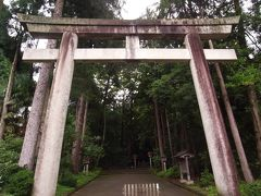 鶴来駅からタクシーで白山比咩神社へ。約5分