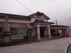 金沢市内、野町駅から北陸電鉄石川線で鶴来駅に移動。約30分