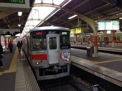 姫路駅前から乗れる山陽電鉄。大阪、神戸方面に行けます。これで三ノ宮まで。初めて山陽電鉄に乗りましたが、京急・京浜電鉄見たいな感じかな。