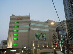 恵比寿の駅。