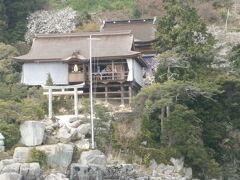 こちらの鳥居のあるのが都久夫須麻神社 です