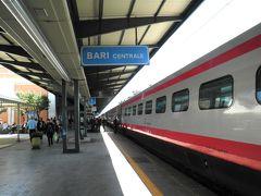 2013/04/29 バーリ駅  バーリ中央駅に着きました・・・ やっぱり少し遅れました!!