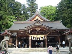 白山比咩神社も、2012年12月以来二度目の訪問です。