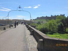 カルカソンヌの古い橋