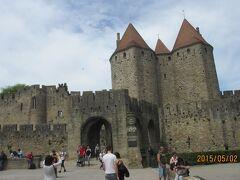 東側のナルボンヌ門 Porte Narbonnaise
