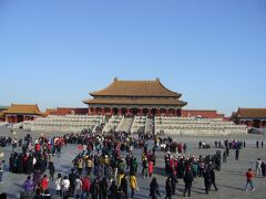 4つ目の世界遺産は「故宮博物院」 かつて明清朝の皇帝が暮らした宮殿「紫禁城」 現在では「故宮博物院」として一般公開されています。