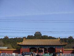 神武門の北側には「景山公園」が。