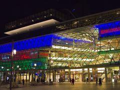 市内中心部Hauptwacheにあるショッピングモール「Zeilgalerie」。 比較的遅い時間帯まで開いているので便利です。