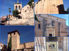 サモーラは町じゅうロマネスク様式の教会だらけ。いったいいくつあるんだろう?