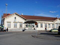 ヨエンスー駅(Joensuu)と東浜通り(Itäranta)