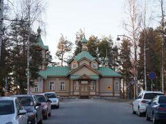 ヨエンスー正教会(Joensuun Ortodoksinen Seurakunta)と教会通り(Kirkkokatu)  http://www.joensuunortodoksit.fi/
