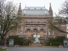 トゥルク美術館(Turun taidemuseo)とアウラ通り(Aurakatu)  http://www.turuntaidemuseo.fi/