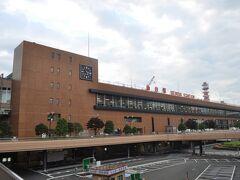 翌朝も早起きして、仙台駅まで歩いてきました。