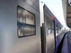函館駅8時13分発 スーパー北斗3号 北海道の列車の旅 憧れでした 前日指定席確保できず、当日自由席でなんとか出発