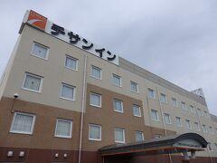 前泊はチサンイン大村長崎空港でした。とっても安くて良かったです。 (写真は翌朝)