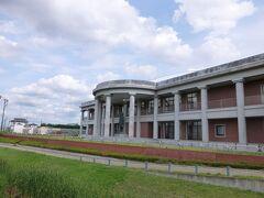 渋沢栄一記念館 八基公民館 公民館の建物のかなりの面積が渋沢栄一記念館になっています。