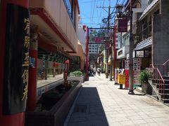いきなり長崎中華街からスタートします。 6月なのにすでにこの日差し、梅雨入りの心配はなさそうです。 お目当はちゃんぽん