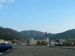 請島から戻ると、晴天でした。