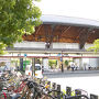 ●JR二条駅  愛称:JR嵯峨野線に属するJR二条駅。 亀岡からの帰り、せっかくなので、祇園祭の宵々山、のぞきに行ってきます。