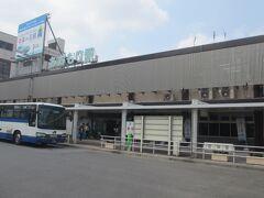はやぶさに乗り、青森駅に到着。