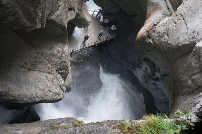 トゥリュンメルバッハの滝
