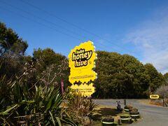 フカ滝の近くにはいろんな観光施設があるので、ハチミツ屋さんにも行ってみました。