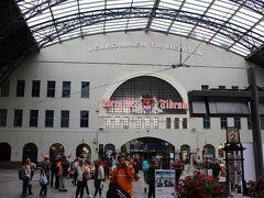ベルゲン駅到着です。16:00ごろ着きました。 まだ明るいので走れそうです。