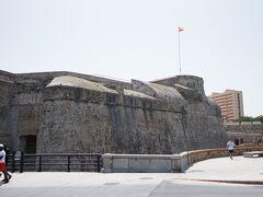 昔の要塞を感じる場所。