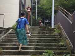 昨日見つけた熊野神社に行ってみよう!