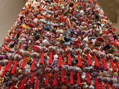 道の駅クロステ10にはギネスに認定された吊るし雛が飾られていました