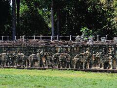 象のテラスと呼ばれている所。