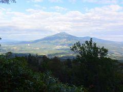 3合目手前でニセコアンヌプリが。。すてきな山が見れて楽しい!