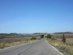 こんな田舎道。